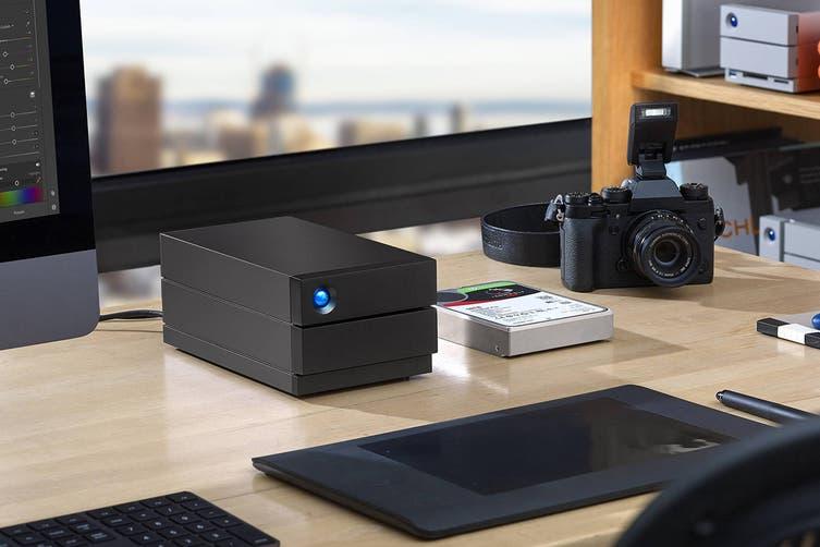 LaCie 4TB 2Big RAID USB-C External Desktop Drive (STHJ4000800)