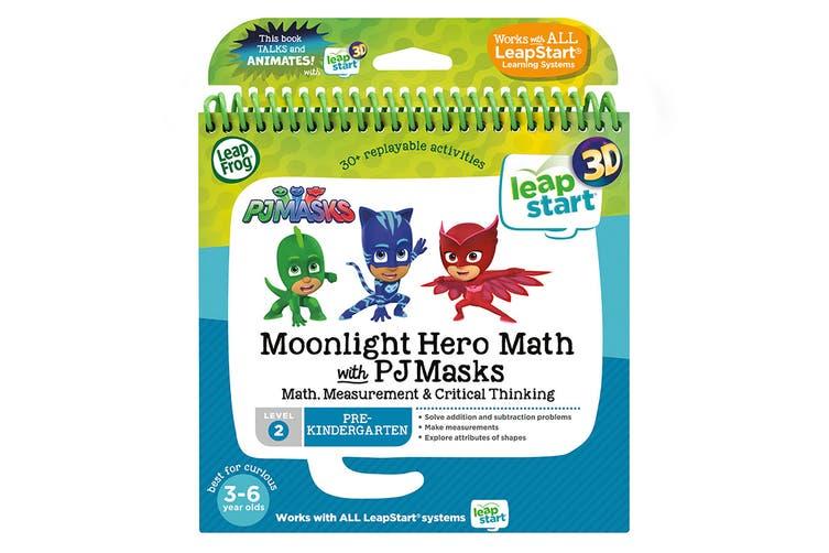 LeapFrog LeapStart Moonlight Hero Math with PJ Masks - 3D Enhanced