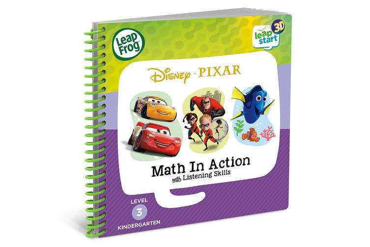 LeapFrog LeapStart book Disney Pixar Pals Maths in Action - 3D Enhanced