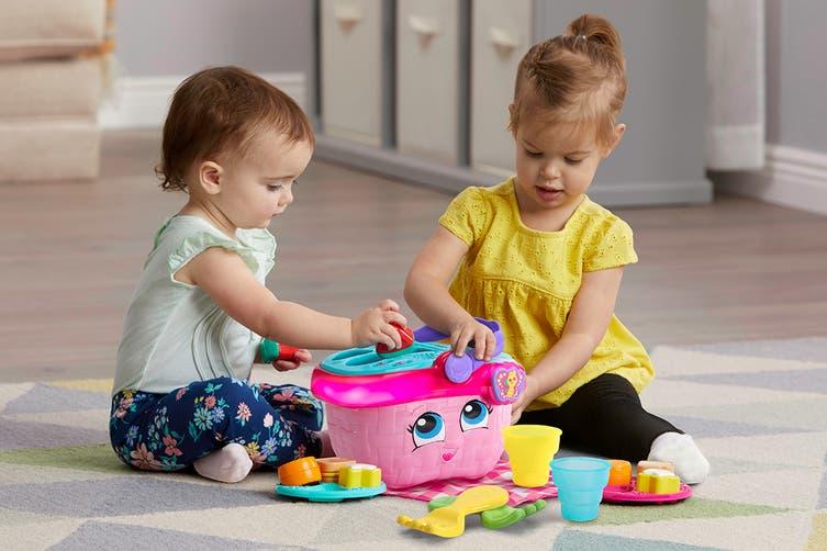 LeapFrog Shapes & Sharing Picnic Basket (Pink)