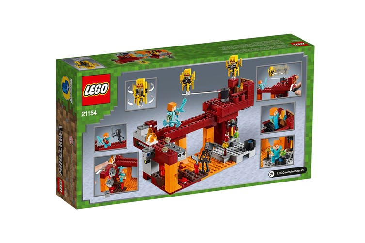 LEGO Minecraft The Blaze Bridge (21154)