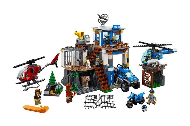 LEGO City Mountain Police Headquarters (60174)