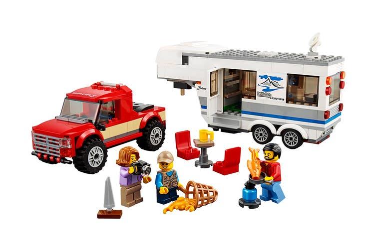 LEGO City Pickup & Caravan (60182)