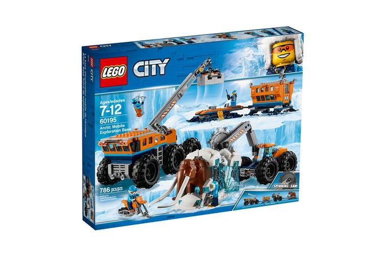 LEGO City Arctic Mobile Exploration Base (60195)
