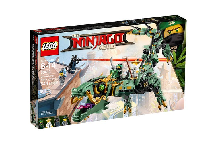 LEGO NINJAGO Green Ninja Mech Dragon (70612)