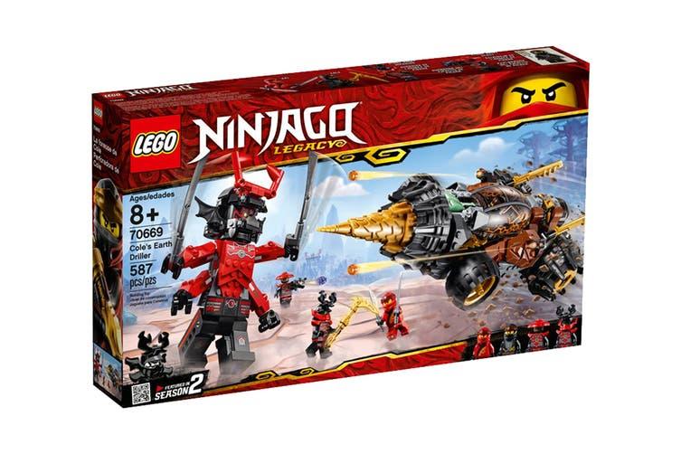 LEGO NINJAGO Cole's Earth Driller (70669)