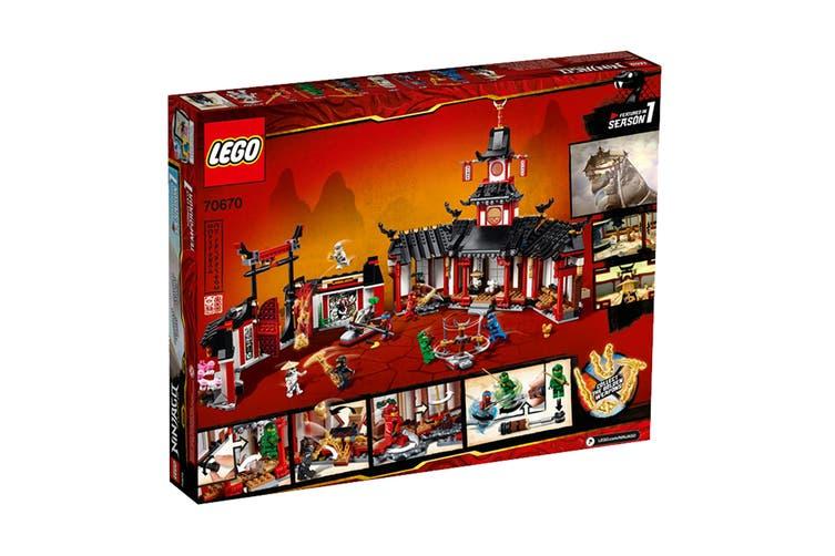 LEGO NINJAGO Monastery of Spinjitzu (70670)