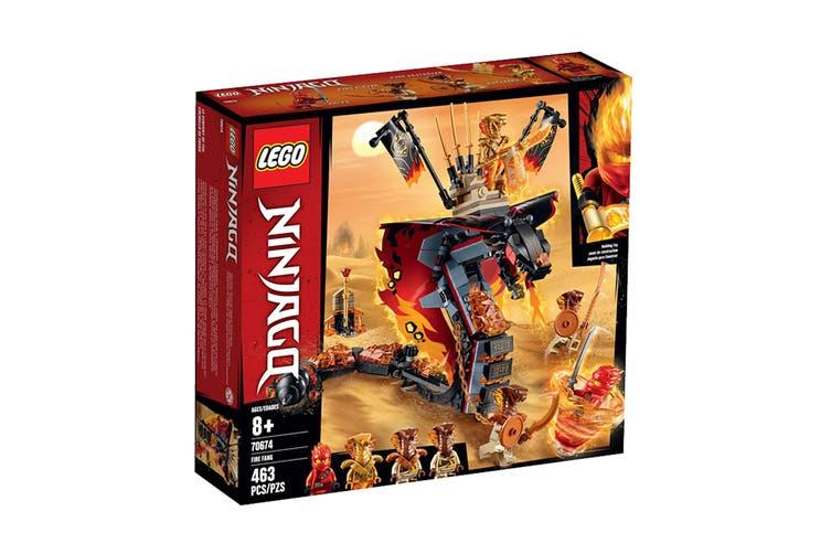 Dick Smith NZ   LEGO NINJAGO Fire Fang (70674)   Lego (Toys)
