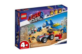 LEGO Movie 2 Emmet and Benny's 'Build and Fix' Workshop! (70821)