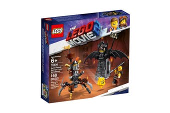 LEGO Movie 2 Battle-Ready Batman and MetalBeard (70836)