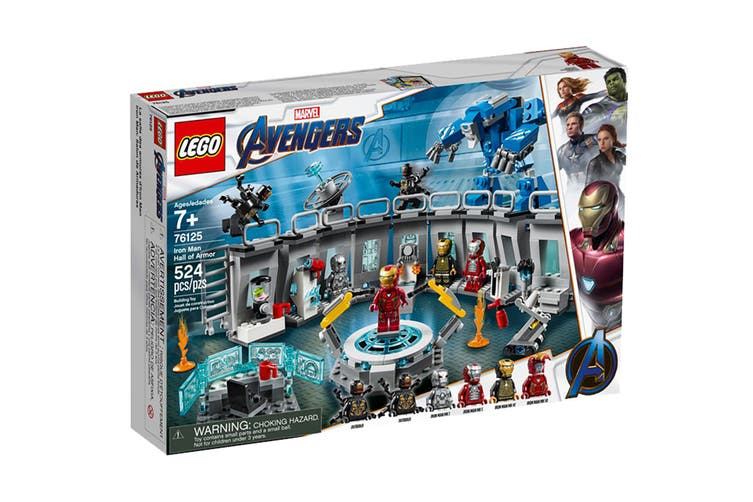 LEGO Marvel Iron Man Hall of Armor (76125)