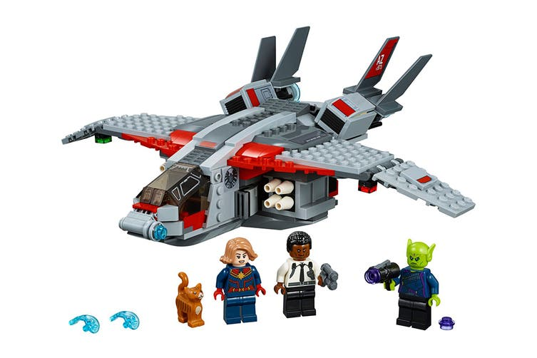 LEGO Marvel Captain Marvel and The Skrull Attack (76127)