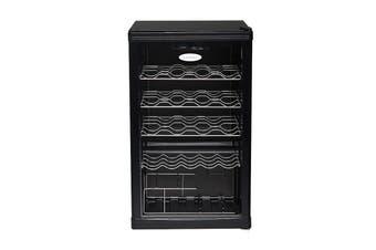 Lemair Wine Cabinet 117L Refrigerator - Black (LWC59)