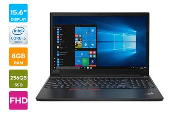 "Lenovo ThinkPad E15 15.6"" FHD Win 10 Pro Laptop (i5 10210U,8 GB RAM, 256GB SSD, Black)"