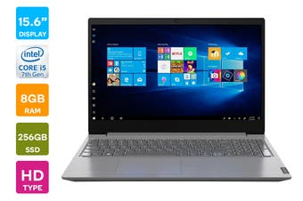 "Lenovo Ideapad V15 15.6"" Core i5-8265U 8GB RAM 256GB SSD Win10 Home Laptop (81YE009RAU)"