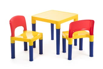 Lenoxx Kids 3 Piece Table & Chair Set