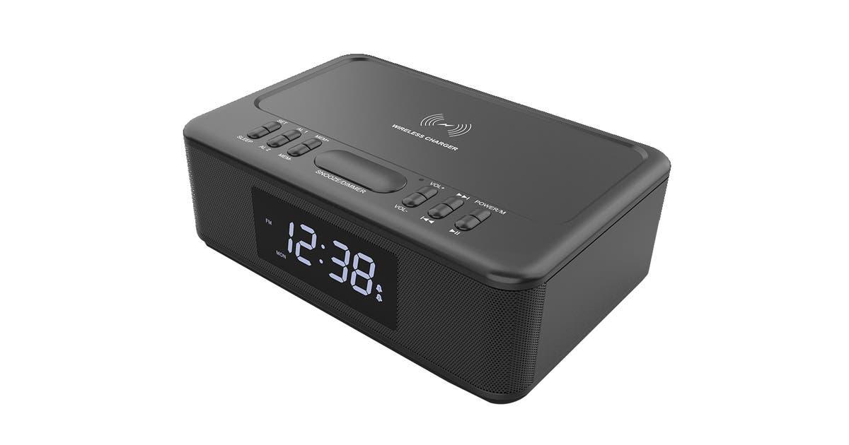 Dick Smith Lenoxx Wireless Charger Bluetooth Clock Radio Digital Radios