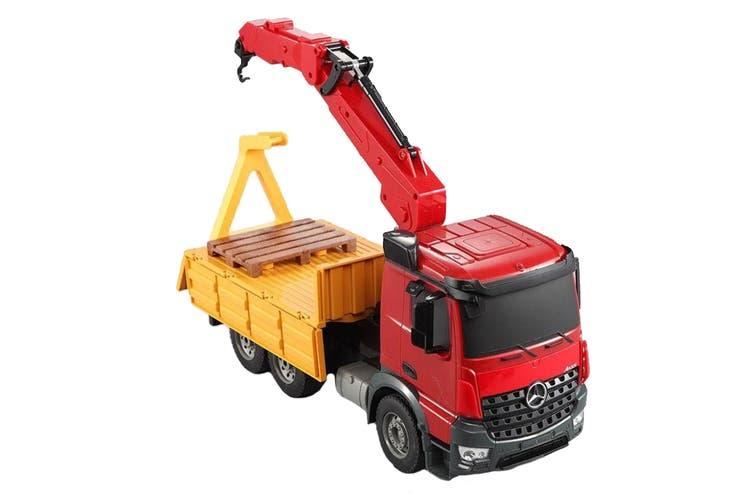 Mercedes-Benz Remote Controlled Kids Crane Truck (E565-003)