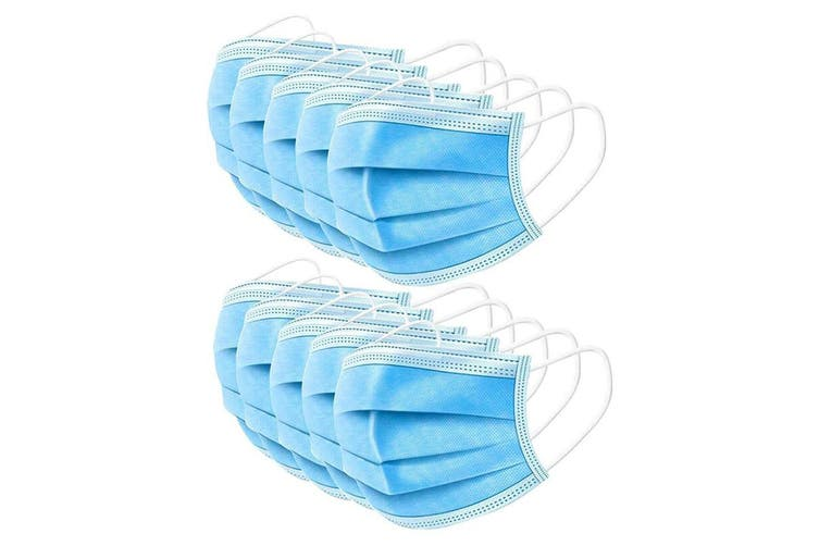 50 Pack 3 Ply Protective Disposable Face Mask