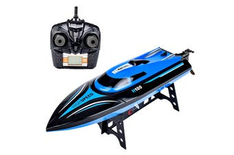Remote Control 20kmh Kids Toy Speedboat with LCD Screen Remote (H100)