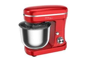 Healthy Choice Kitchen 1200W Stand Mixer - Red (MX1200R)