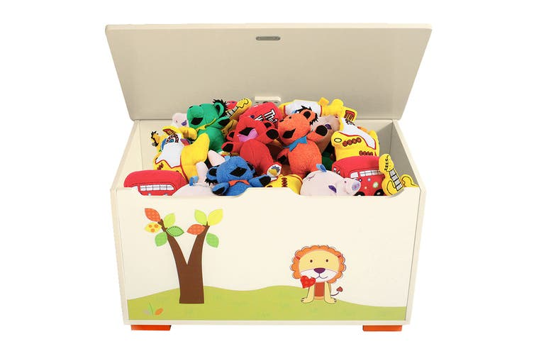 Wooden Kids Toy Box with Graphics (TB279)