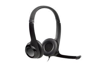 Logitech H390 USB Computer Headset with Noise-Cancelling Microphone