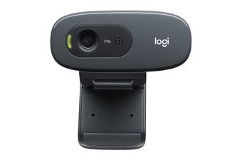 Logitech Plug and Play HD 720p Webcam with Video Calling (C270i)