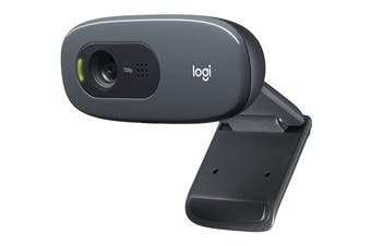 Logitech Plug and Play HD 720p Webcam with Video Calling (C270)