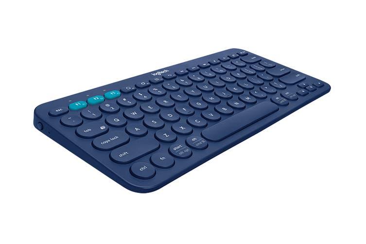 Logitech K380 Bluetooth Keyboard (Blue)