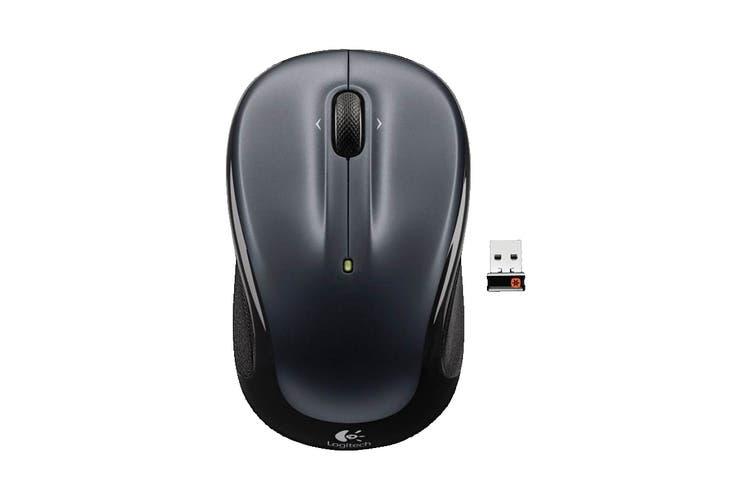 Logitech M325 Wireless Mouse - Dark Grey (910-002151)