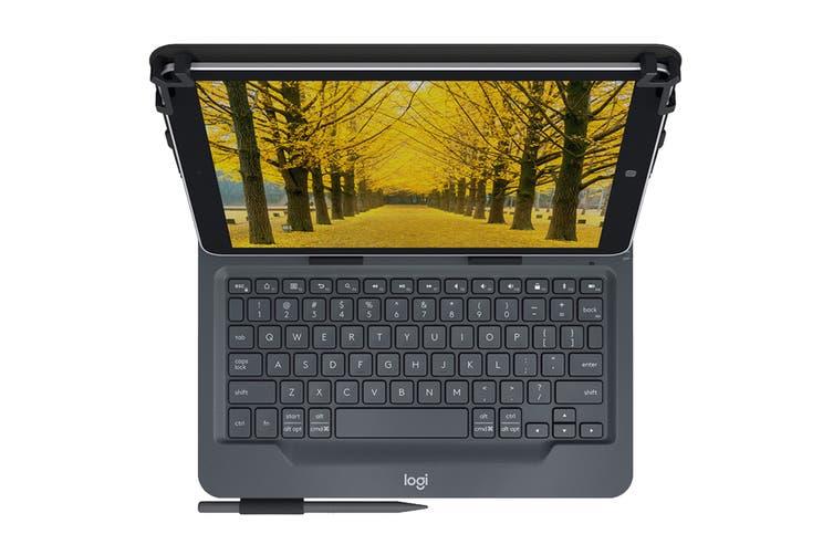 Logitech Universal Folio KBD For 9-10 Inch Tablets - Black (920-008334)