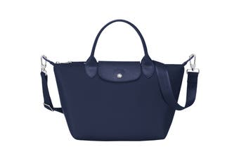 Longchamp Le Pliage Neo Top-Handle Tote Handbag (Small, Navy)