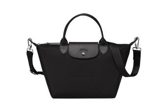 Longchamp Le Pliage Neo Top-Handle Tote Handbag (Medium, Black)