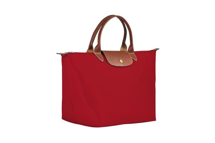 Longchamp Le Pliage Top-Handle Handbag (Medium, Red)