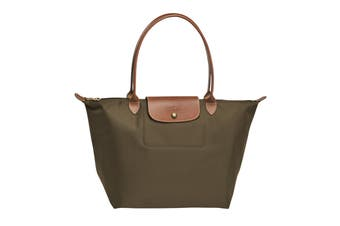 Longchamp Le Pliage Tote Bag (Large, Khaki)