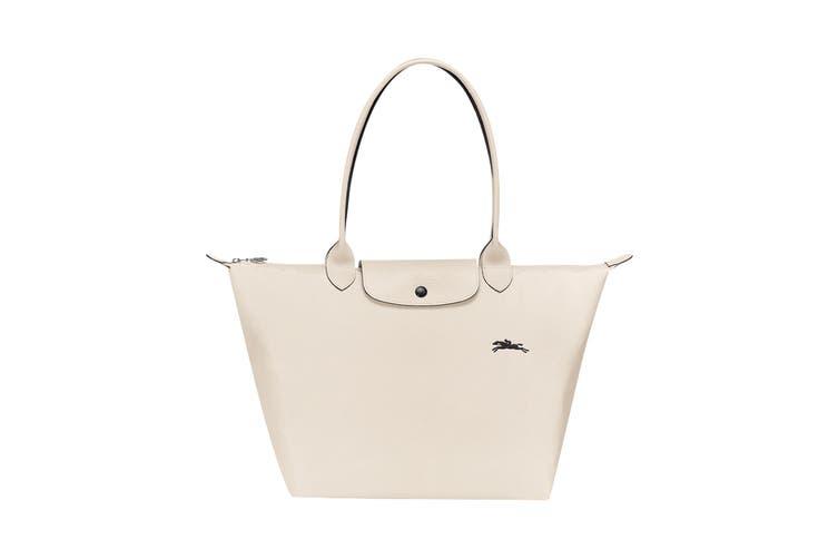 Longchamp Le Pliage Club Tote Handbag (Large, Chalk)