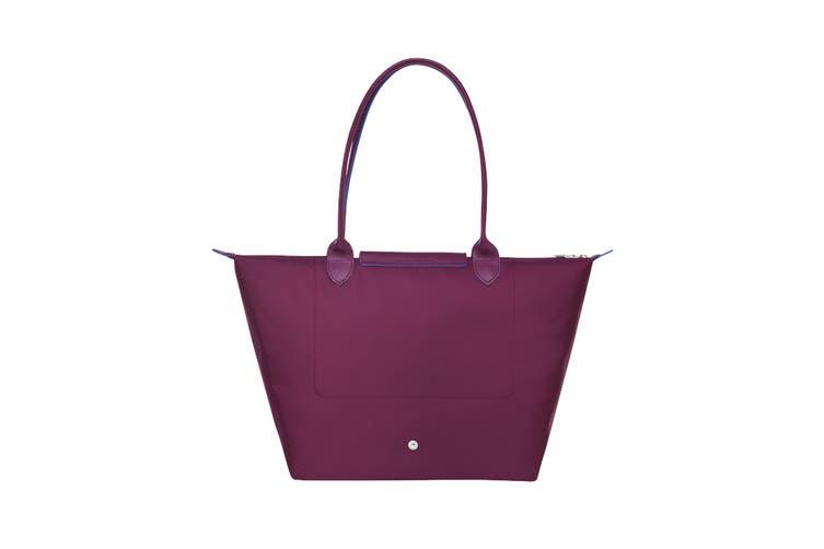 Longchamp Le Pliage Club Tote Handbag (Large, Plum)