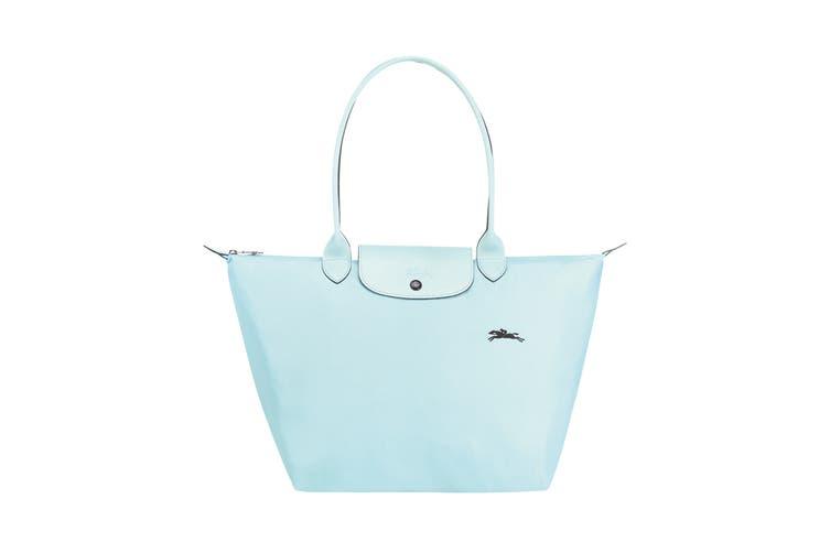 Longchamp Le Pliage Club Tote Handbag (Large, Cloud Blue)