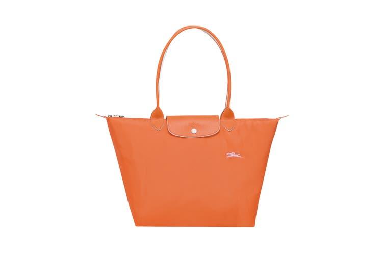 Longchamp Le Pliage Club Tote Handbag (Large, Orange)