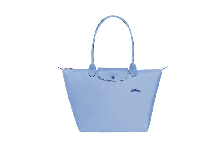 Longchamp Le Pliage Club Tote Handbag (Large, Blue)