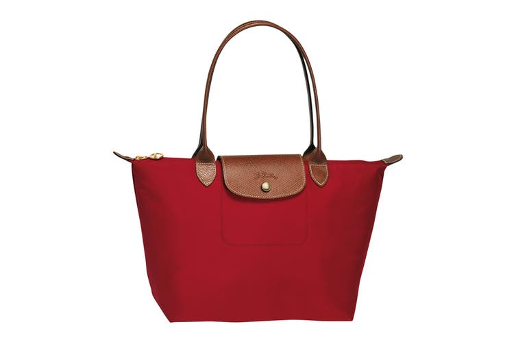 Longchamp Le Pliage Tote Bag (Small, Red)