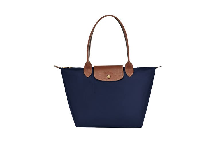 Longchamp Le Pliage Tote Handbag (Small, Navy)