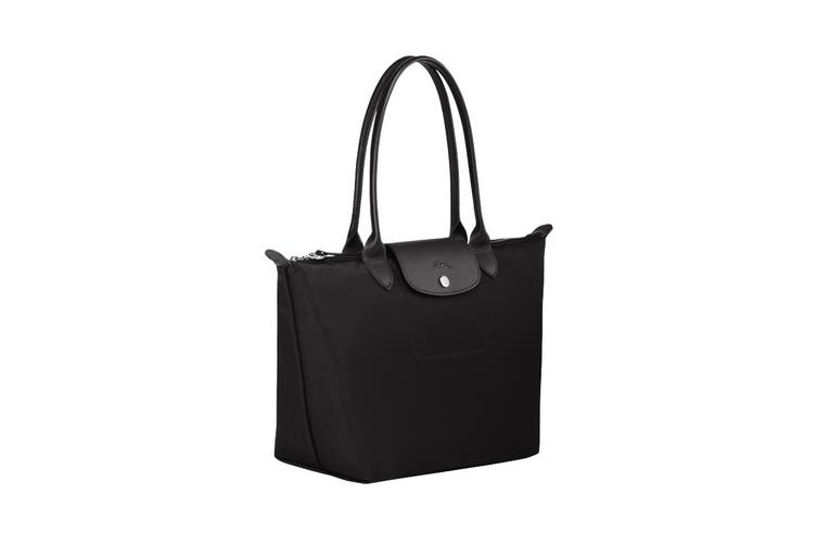 Longchamp Le Pliage Neo Tote Handbag (Small, Black)