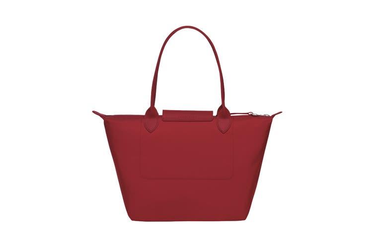 Longchamp Le Pliage Neo Tote Handbag (Small, Red)