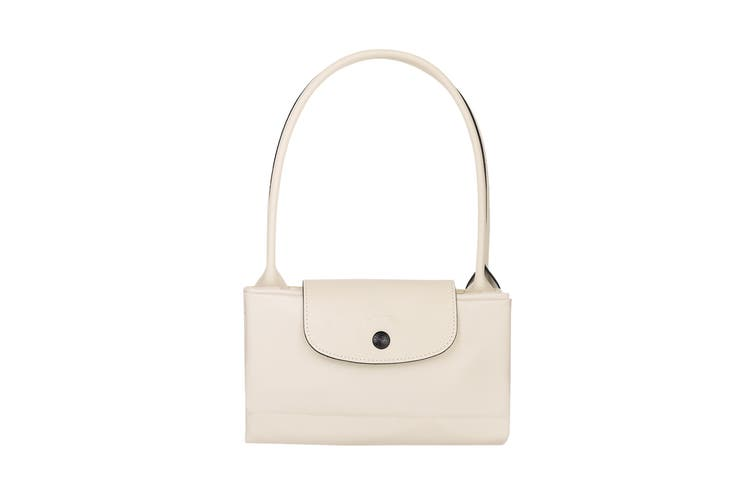 Longchamp Le Pliage Club Tote Handbag (Small, Chalk)