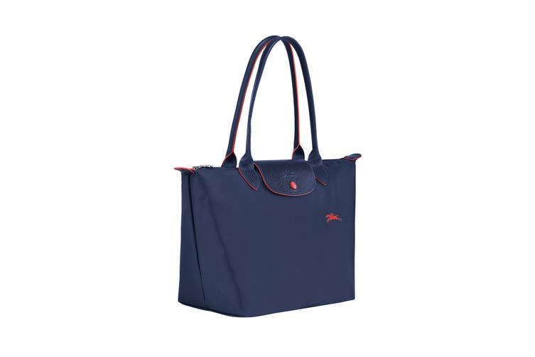 Longchamp Le Pliage Club Tote Handbag (Small, Navy)