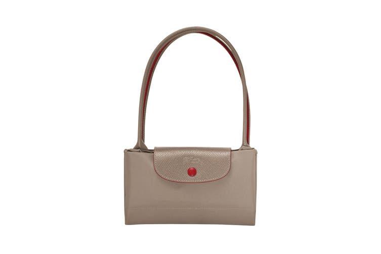 Longchamp Le Pliage Club Tote Handbag (Small, Brown)