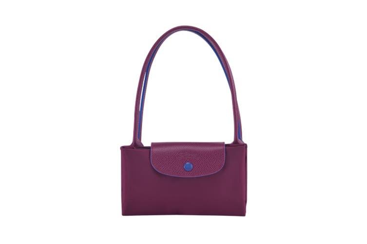 Longchamp Le Pliage Club Tote Handbag (Small, Plum)