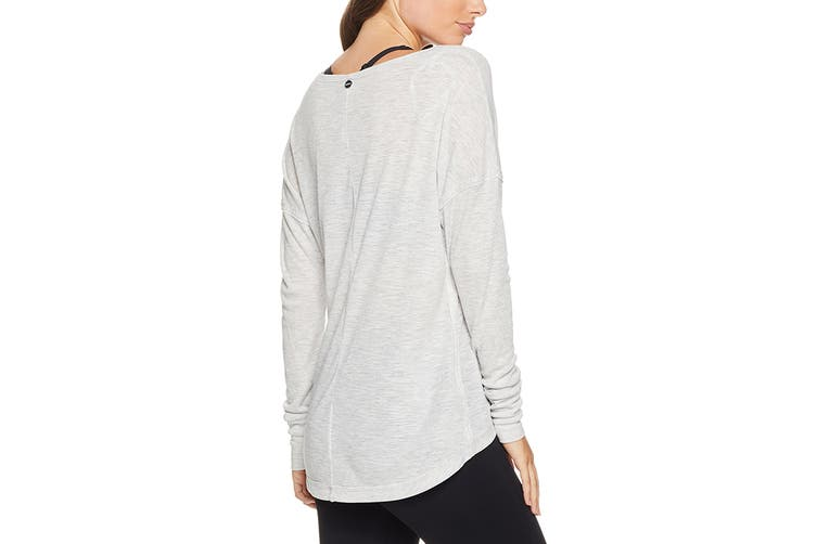 Lorna Jane Women's LJ Lounge Top (Snow Grey Marl, Size M)